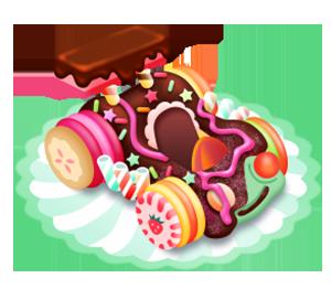 disney-magical-world-2-wreck-it-ralph-sugar-rush-car-cake