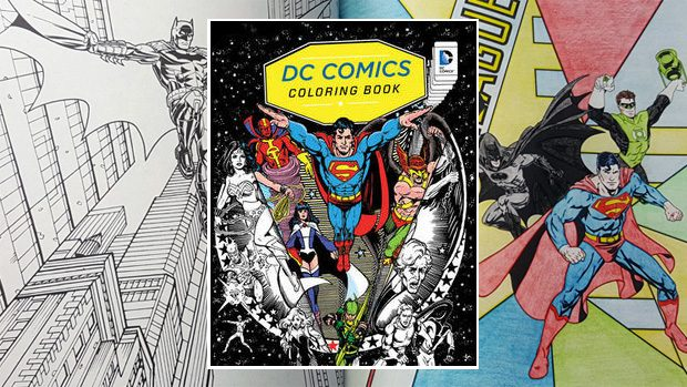 DC Comics Coloring Book Review - Impulse Gamer