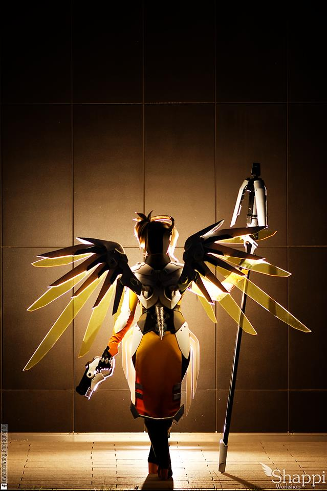 Aleksandra Is The Real Life Mercy From Overwatch Shappi