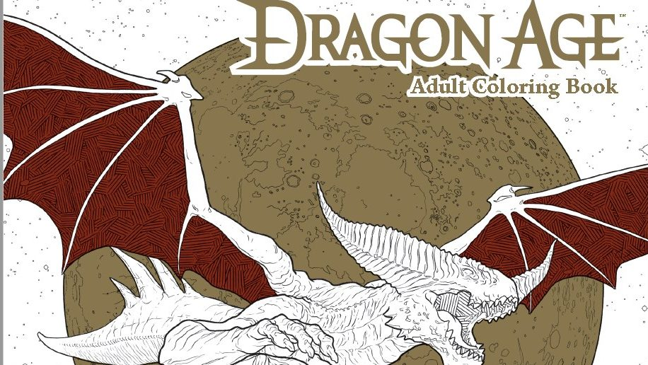 Dragon Age Adult Coloring Book Comic Book Review  Impulse Gamer