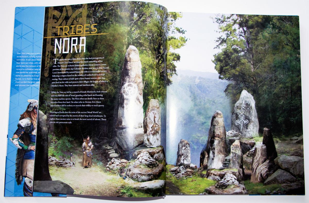 The Art Of Horizon Zero Dawn Review Impulse Gamer