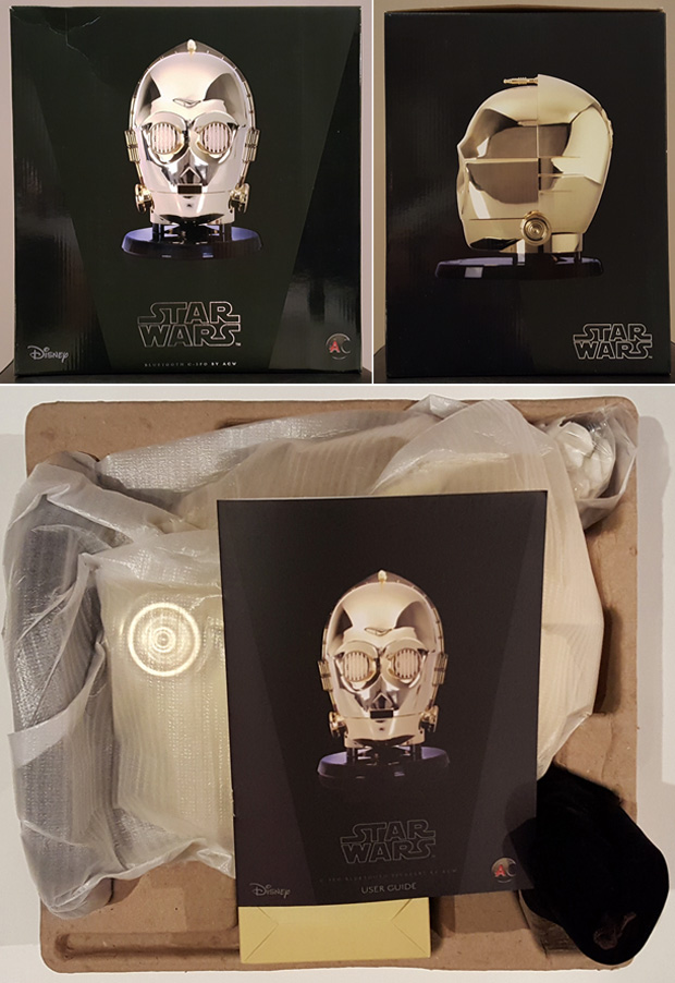 Official Star Wars C-3PO Head Bluetooth Speaker Review