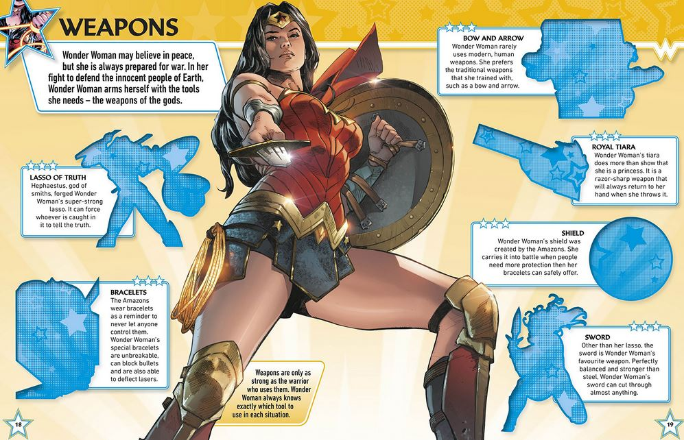 The Ultimate Wonder Woman Sticker Book Impulse Gamer