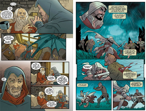 Assassins creed reflections review tpb impulse gamer the first story is about ezio however the theme of these stories focuses on to know your enemy you must first become your enemy as we are introduced to a ccuart Image collections