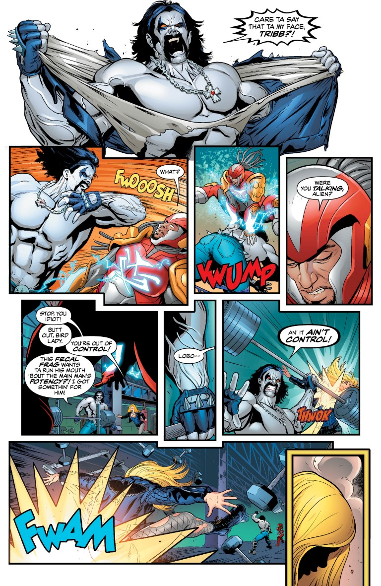 Justice League Of America 19 Review Surgical Strike