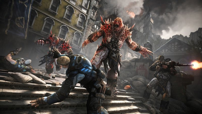 Gears of War 4 Xbox One X Review - Impulse Gamer