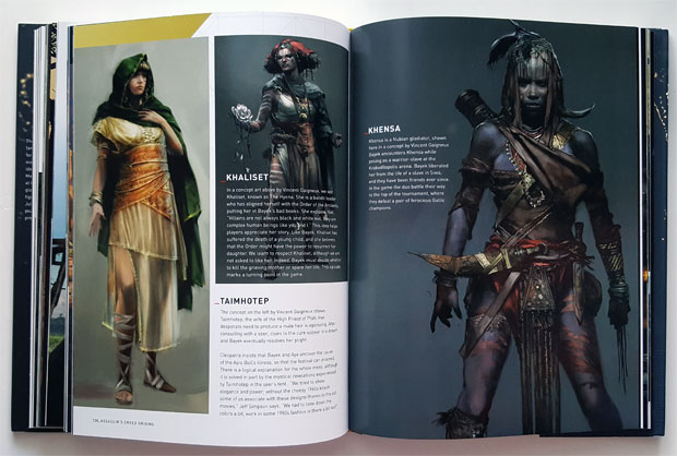 The Art Of Assassin S Creed Origins Review Impulse Gamer