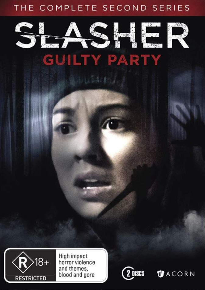 WIN SLASHER GUILTY PARTY THE COMPLETE SERIES TWO ON DVD ...