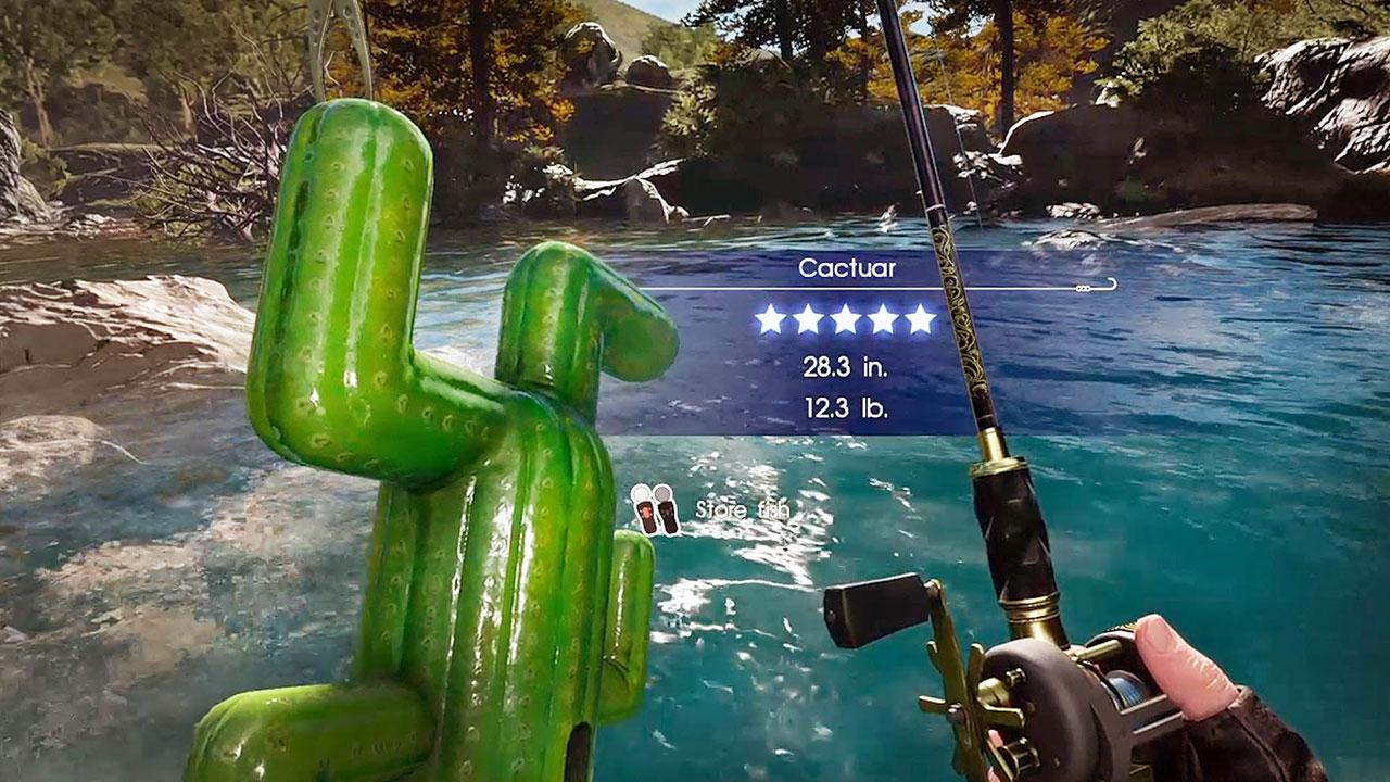 Ffxv monster of the deep psvr review impulse gamer for Ffxv fishing rods