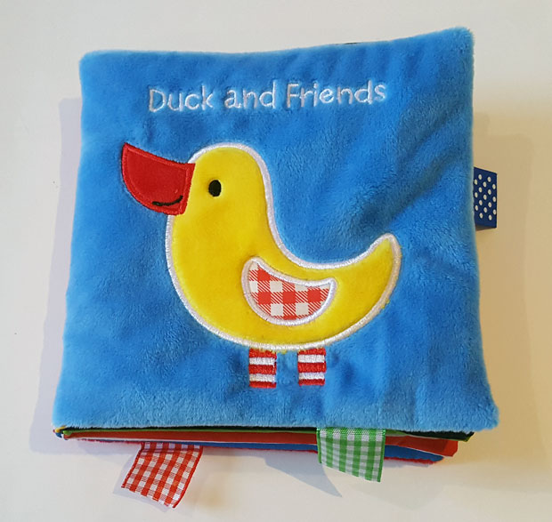 Duck And Friends A Soft And Fuzzy Book Just For Baby Friends
