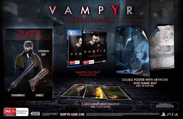 Vampyr S Limited Editions Revealed For Australia Impulse