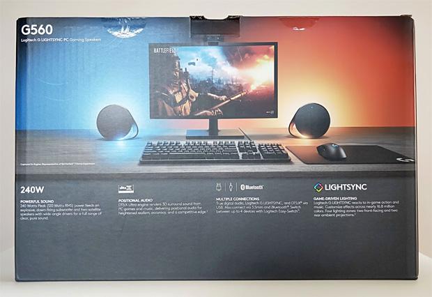 G560 Lightsync PC Gaming Speakers Review - Impulse Gamer