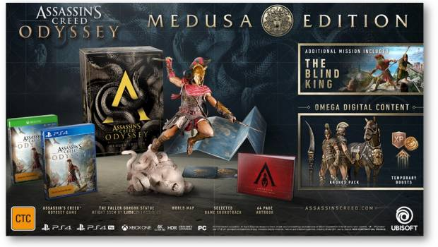Ubisoft Announces Assassin S Creed Odyssey Collector S Editions