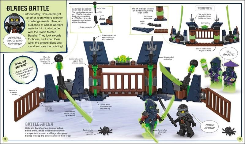 NEW LEGO Ninjago Build Your Own Adventure Latest Ninja Battles