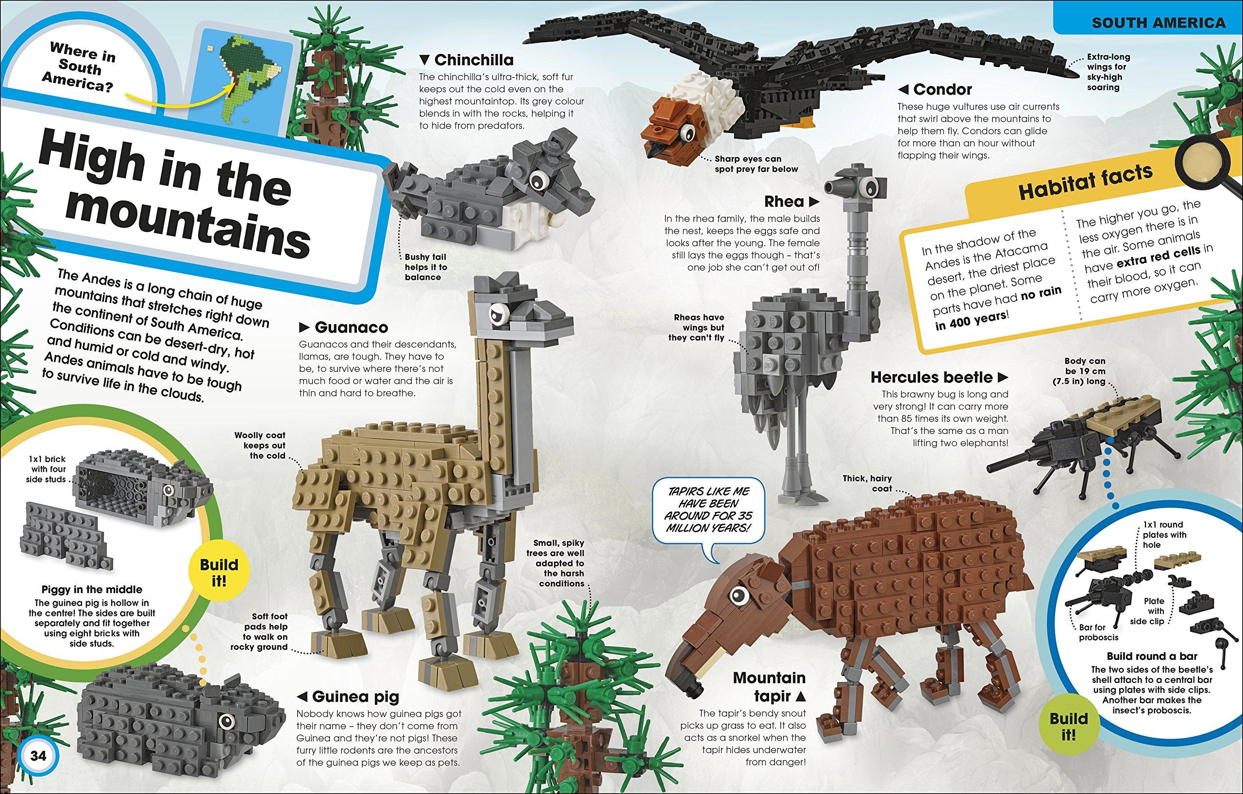 Lego Animal Atlas Book Review Impulse Gamer