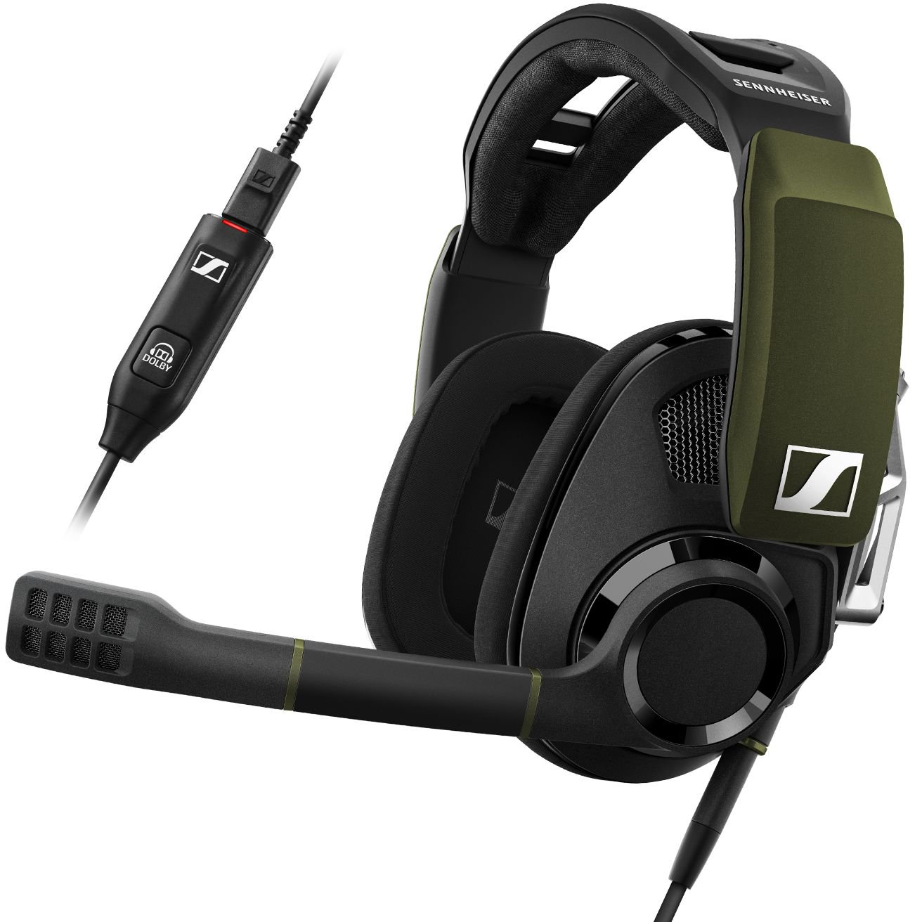 58c0cd446bf Additionally, the Sennheiser GSP 550 Gaming Headset boasts a high quality  build and more importantly, a very comfortable experience thanks to the  dual-axis ...