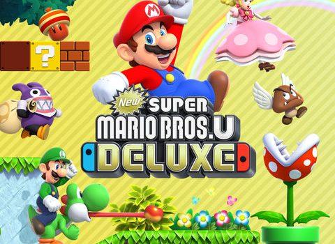 New Super Mario Bros U Deluxe Nintendo Switch Review Impulse Gamer