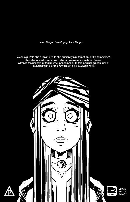 Poppy Announces First Ever Graphic Novel Genesis 1