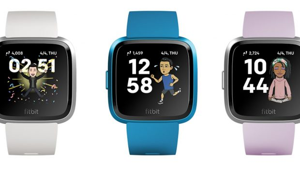 Fitbit and Snap Launch First-Ever Bitmoji Clock Face Integration on