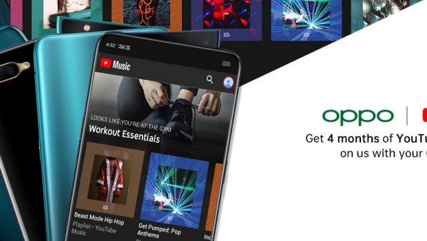 OPPO offers free 4 month trial of YouTube Music Premium to