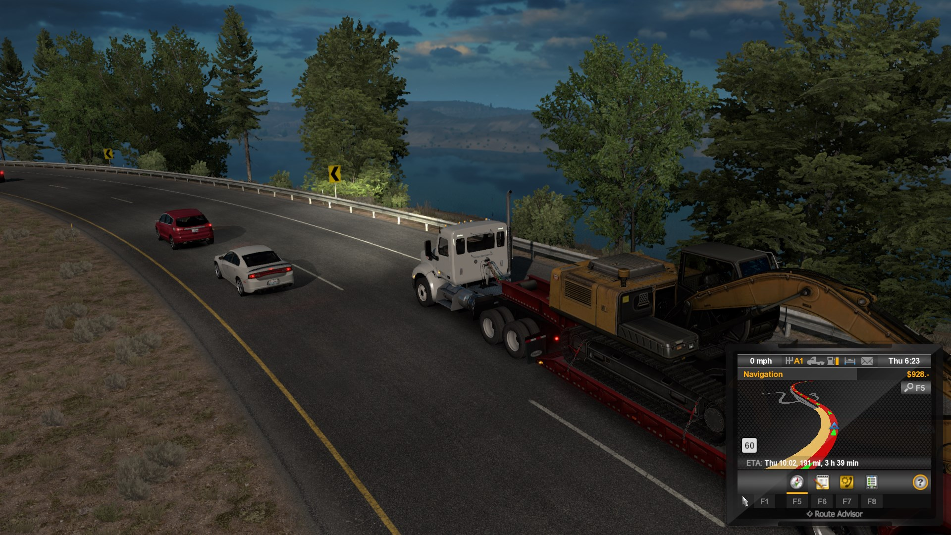 American Truck Simulator: Washington DLC & Forest Machinery