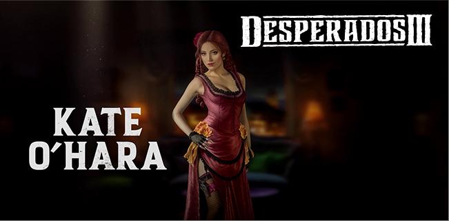 Meet Kate O Hara In New Desperados Iii Trailer Free Demo Available On Gog Com Impulse Gamer