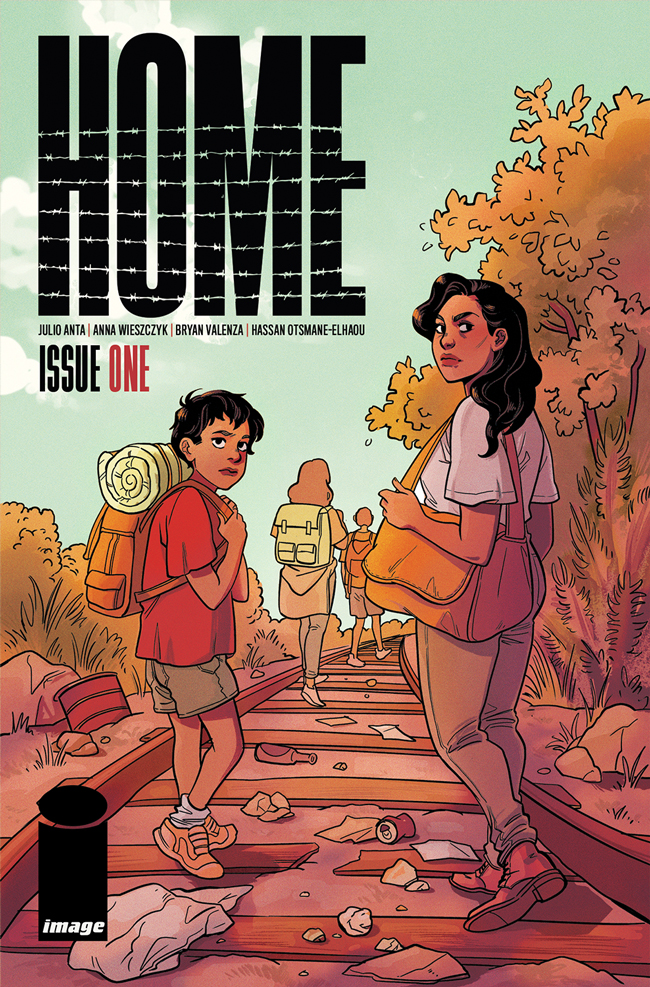 COMIC BOOK SERIES—HOME—TO EXPLORE U.S. IMMIGRATION POLICY AND BORDER PATROL THROUGH SUPERHUMAN LENS