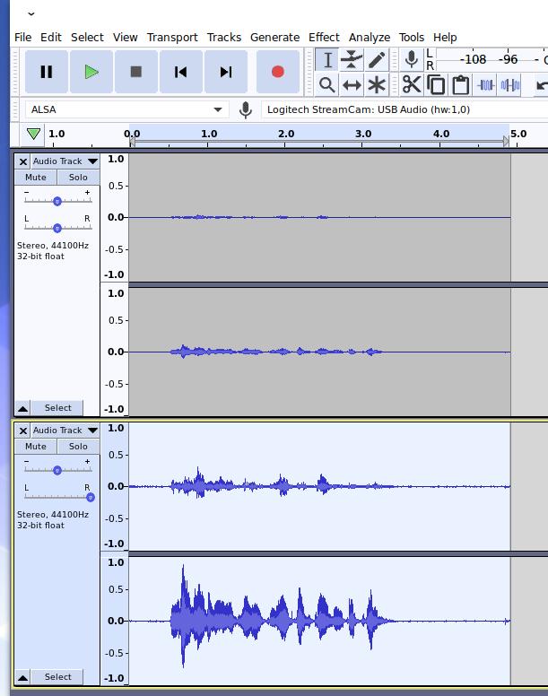 Logitech StreamCam Microphone spoken word test