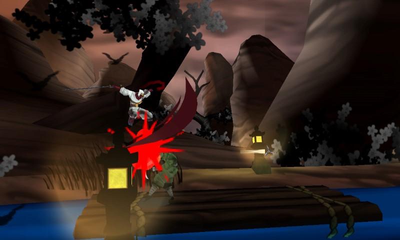 Shinobi 3DS Review - www impulsegamer com -