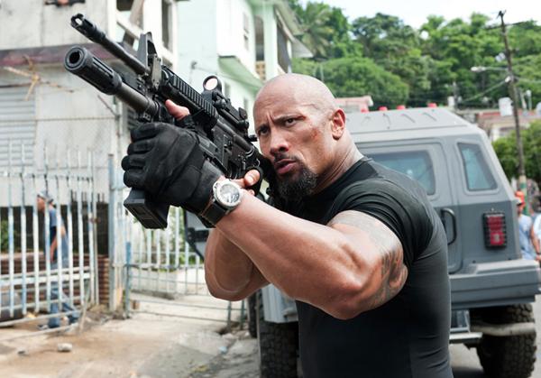 Hobbs Dwayne The Rock Johnson Shows Off His Gun S
