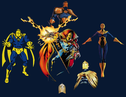 how to draw dr fate