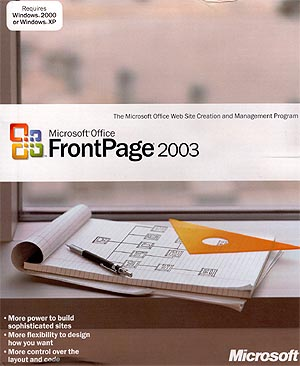 Microsoft frontpage 2003 great deals