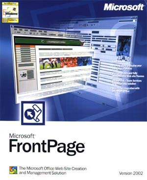 ms frontpage 2002