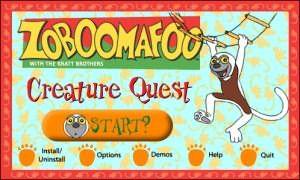 Zoboomafoo Game Zoboomafoo Crea...