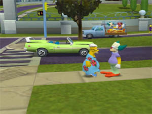 how to use simpsons hit and run cheats ps2