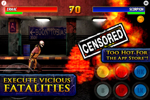 Ultimate Mortal Kombat 3 iPhone/iTouch Review - www