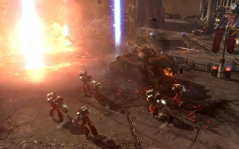 Dawn of War II and Warhammer 40K Online details coming soon.