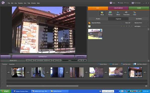how to add recording effect adobe premier
