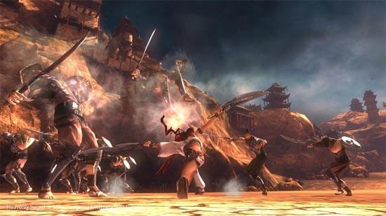 Heavenly Sword Ps3 Review Www Impulsegamer Com