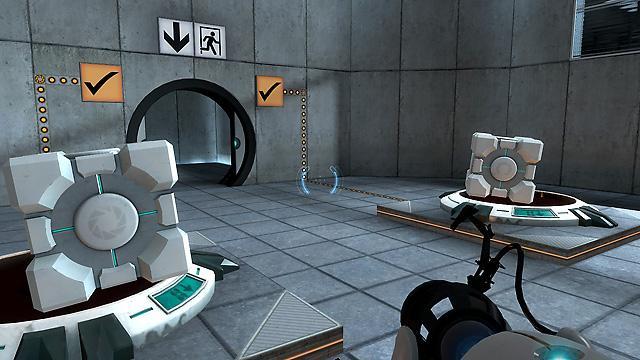 play portal 2 demo