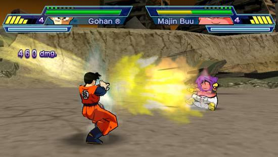 Dragon Ball Z: Shin Budokai 2 PSP Review - www impulsegamer