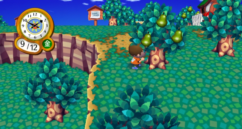 the multiplayer aspect of animal crossing city folk is brilliant and allows you and your friends to visit each others towns match that with the wii speak - Halloween Animal Crossing City Folk